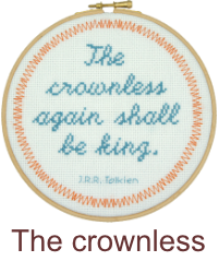 The Crownless again shall be King