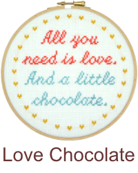 All you need is love. And a little chocolate.