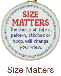 Size matters for stitchers